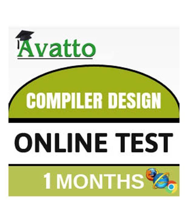 Compiler Design Online Test By Avatto Buy Compiler Design