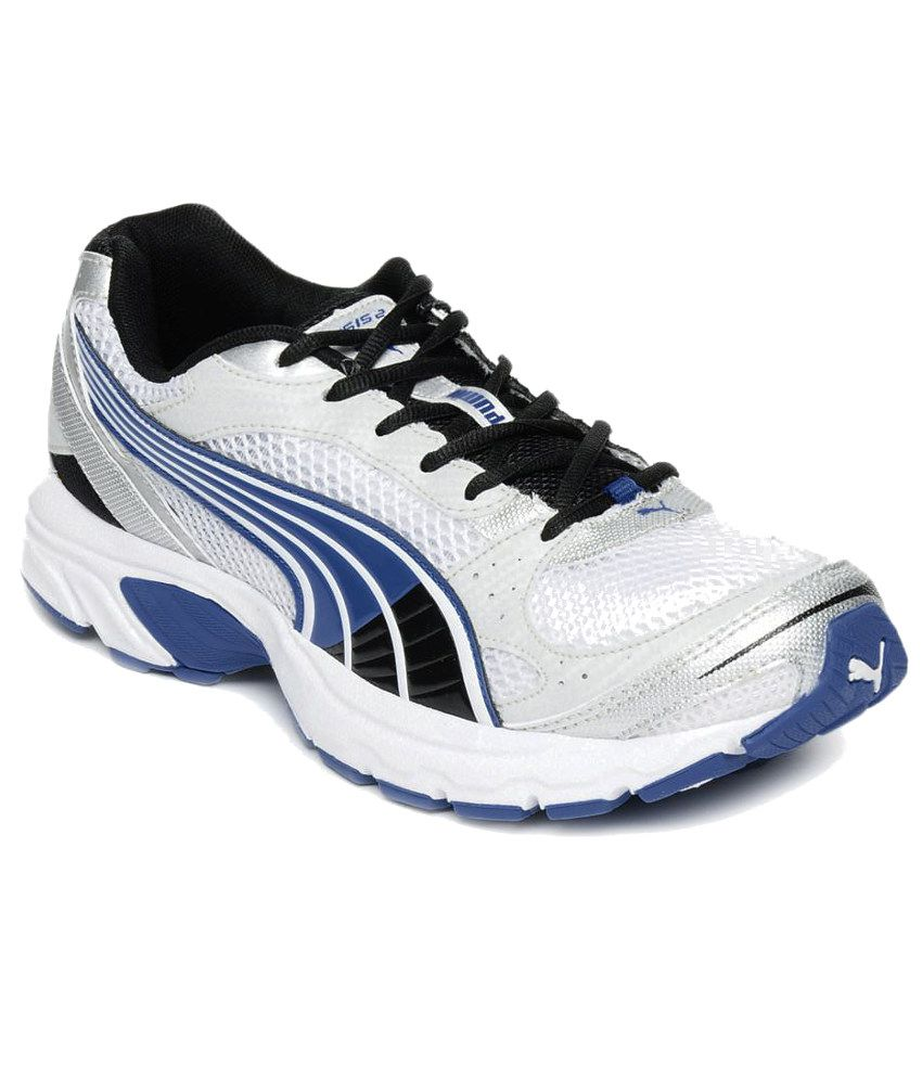 Puma White Sport Shoes