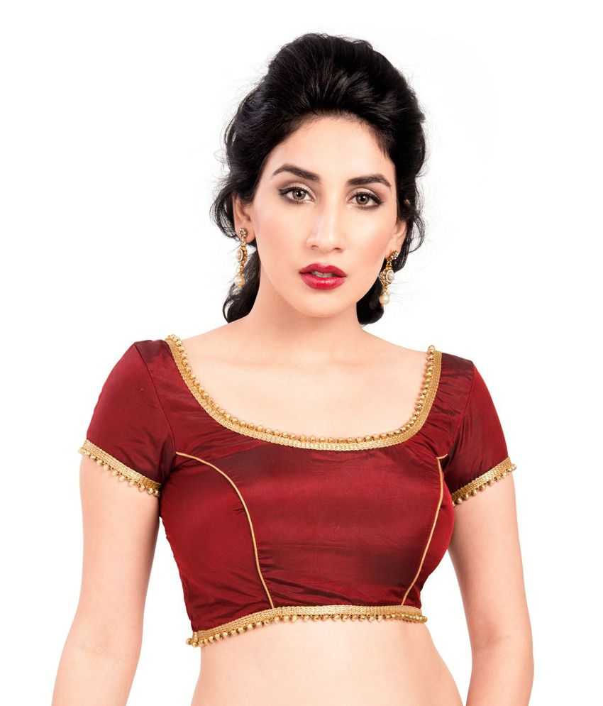4001ca50608bd2 Vamas silk blouse Blouses & Petticoats Prices in India - Shop Online ...