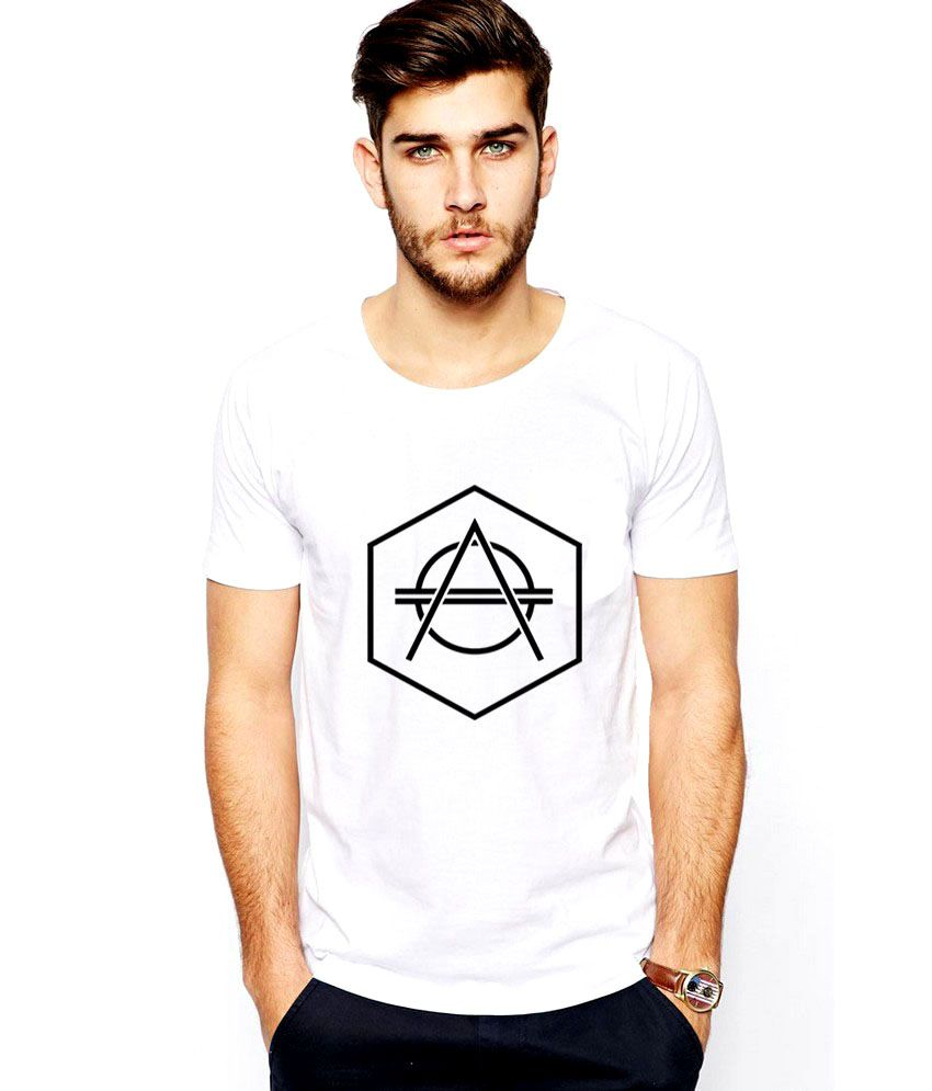 iLyk Don Diablo Men White Printed T-Shirt