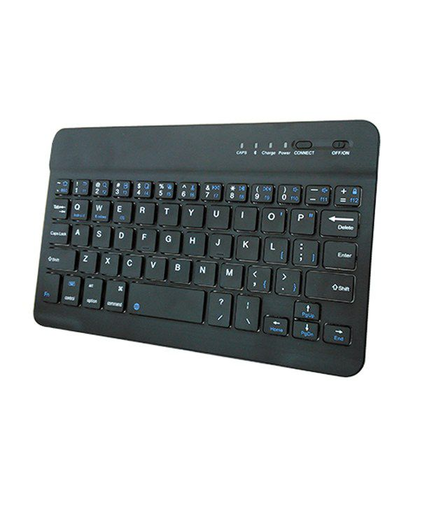 Saco Slim Bluetooth keyboard for Micromax Canvas Tab P650E Tablet