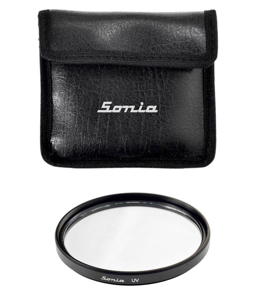 Sonia 62mm UV Filter