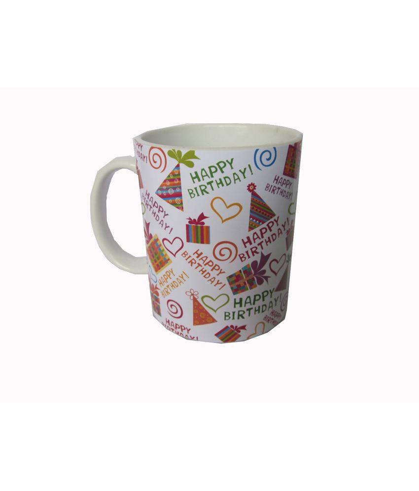 Galaaxy Ceramic Birthday Mug With Print
