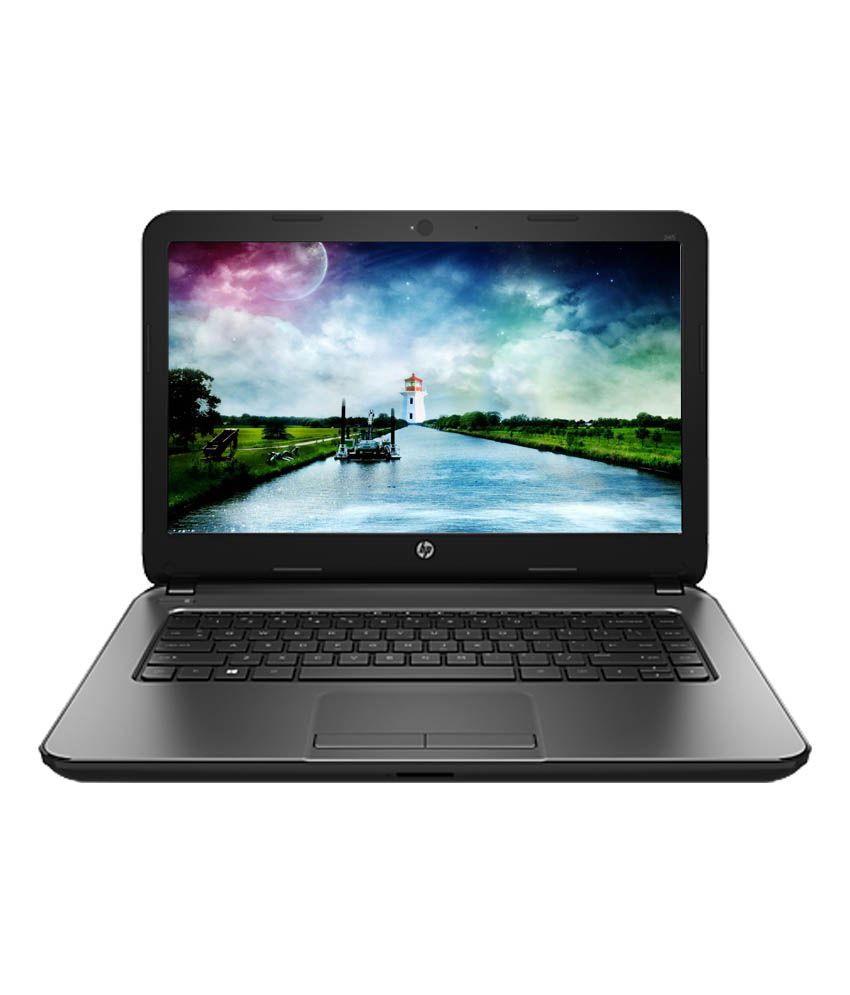 HP G4 (HP 245 G4) Notebook (Amd Apu E1 - 4 GB - 500 GB- 35.56cm(14) - DOS) (Black)