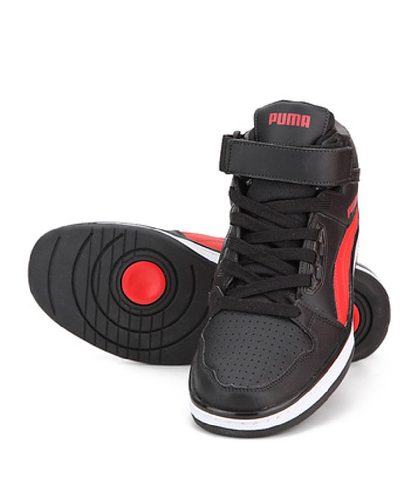 Puma Rebound Mid Lite DP Men High Ankle Sneakers (Grey
