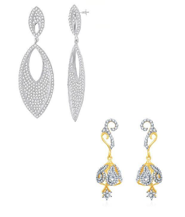Sukkhi best selling shinning earring combo