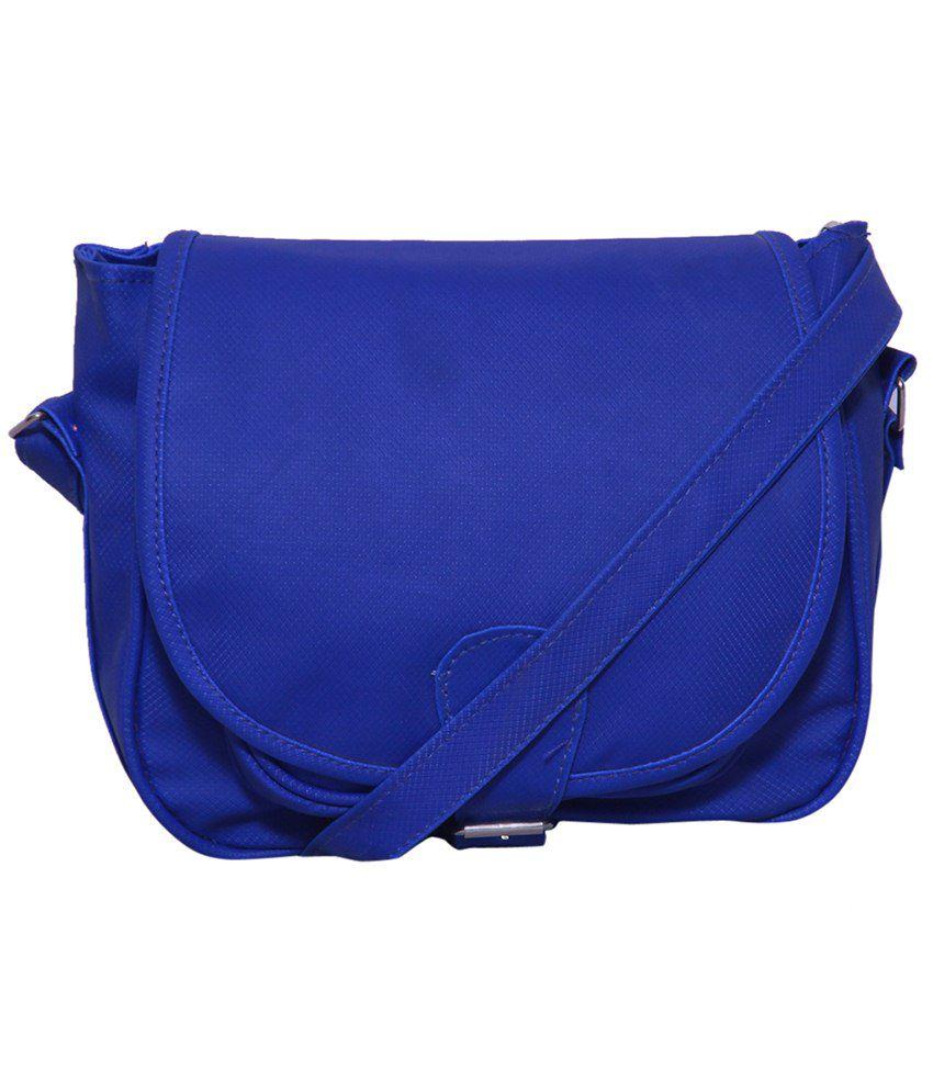 Notbad Nb-0027-blue Blue Sling Bags