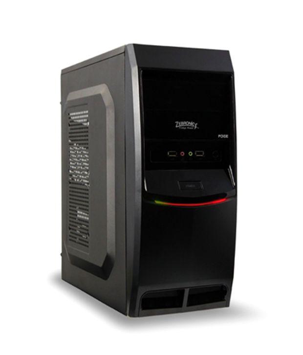 Zebronics Poise Desktop Pc Cabinet Without Smps Zeb 115r