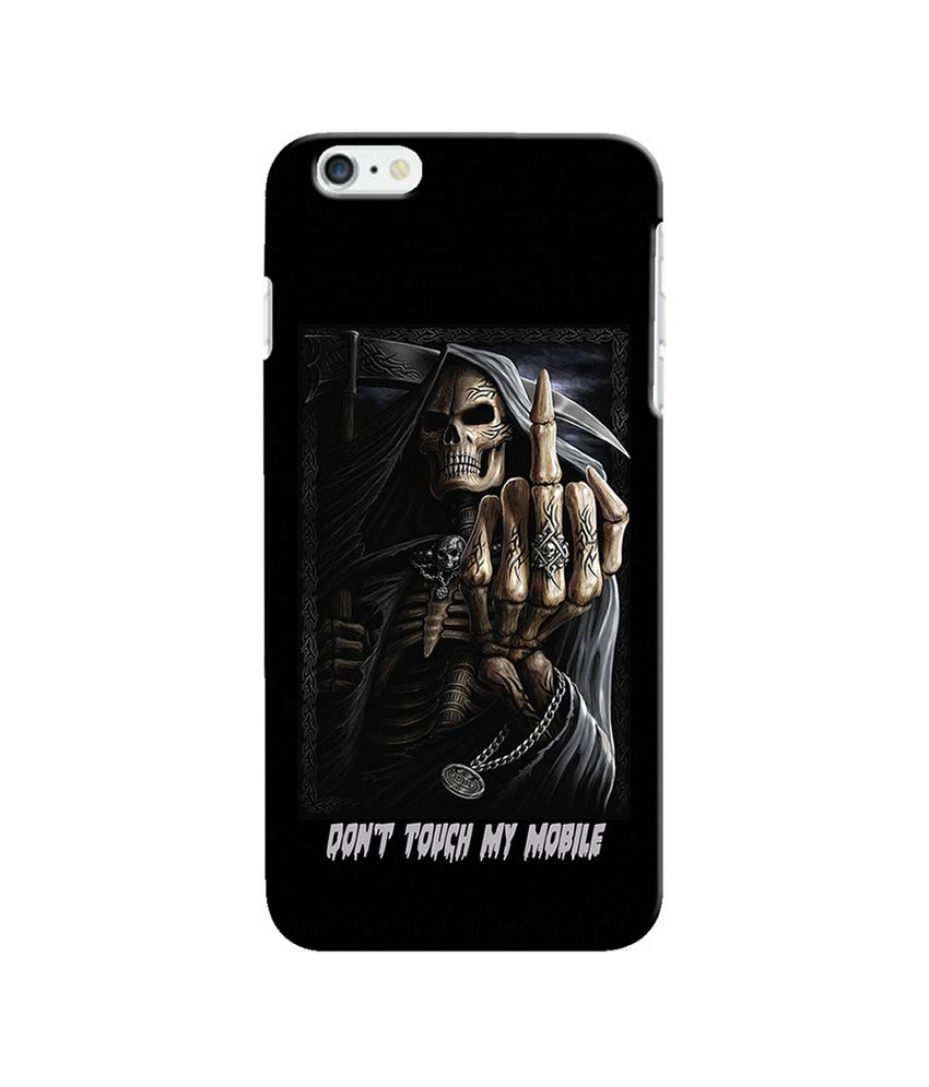 Snooky Back Cover Cases For Apple Iphone 6 Black