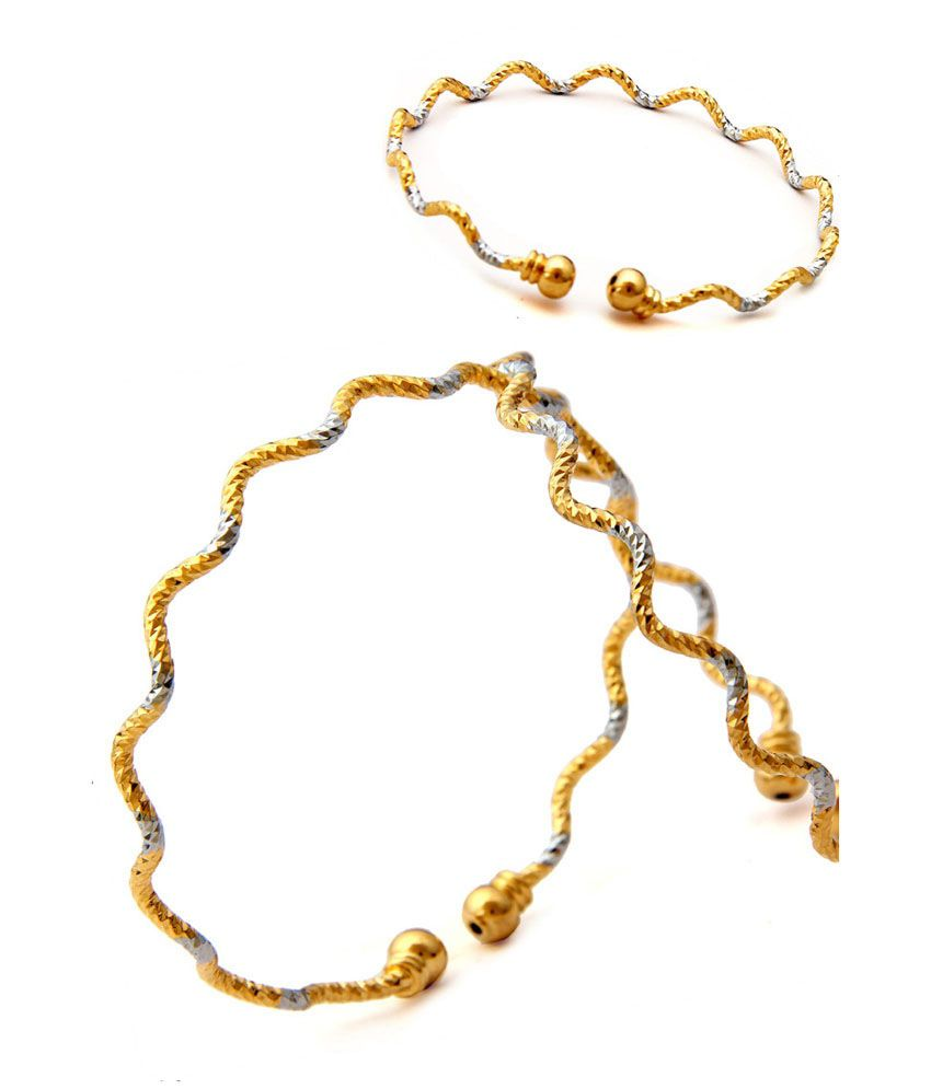 Charming Rhodium  Studded Bracelet