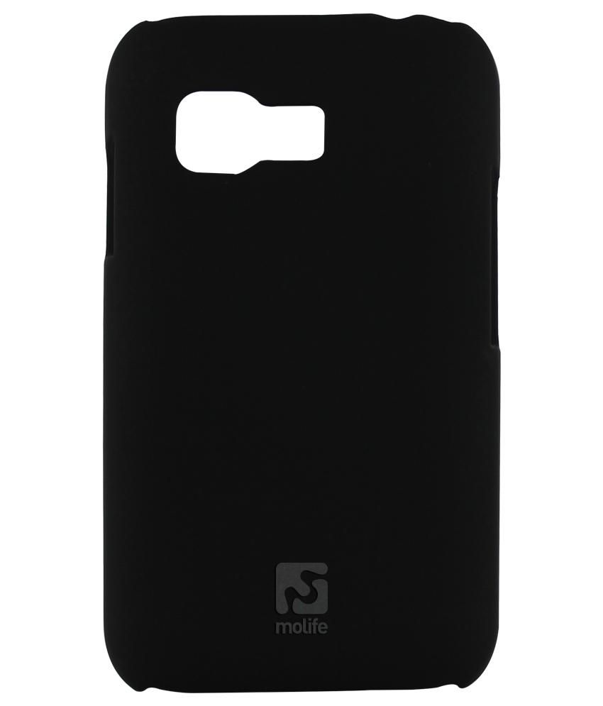 Molife Pc Back Case For Samsung Note 4 (m-mlp9533bk) With Free Screen Guard