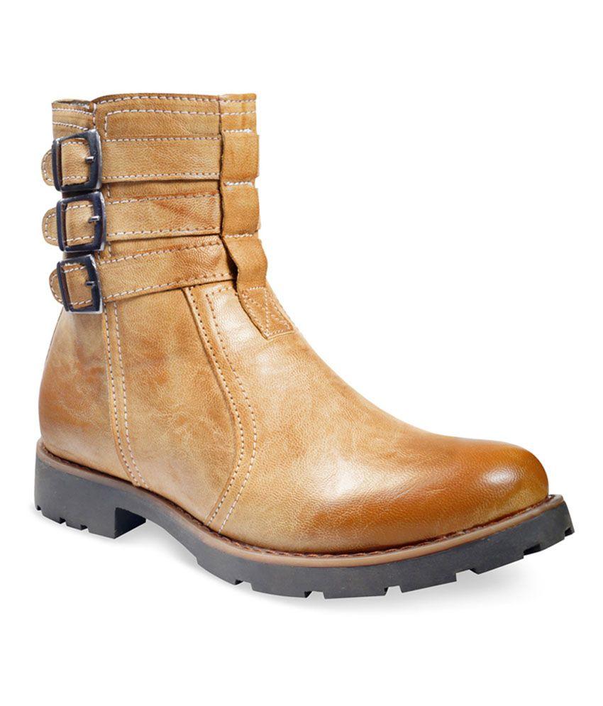 ADYBird Simple Snowy Mink Tan Boot