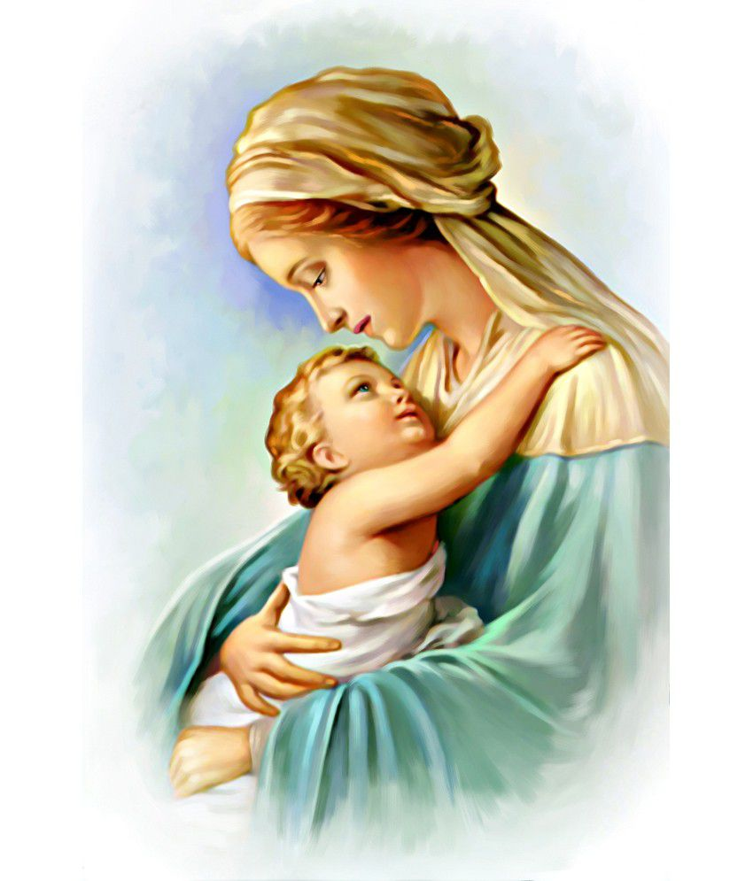 art factory mother mary canvas painting buy art factory mother mary