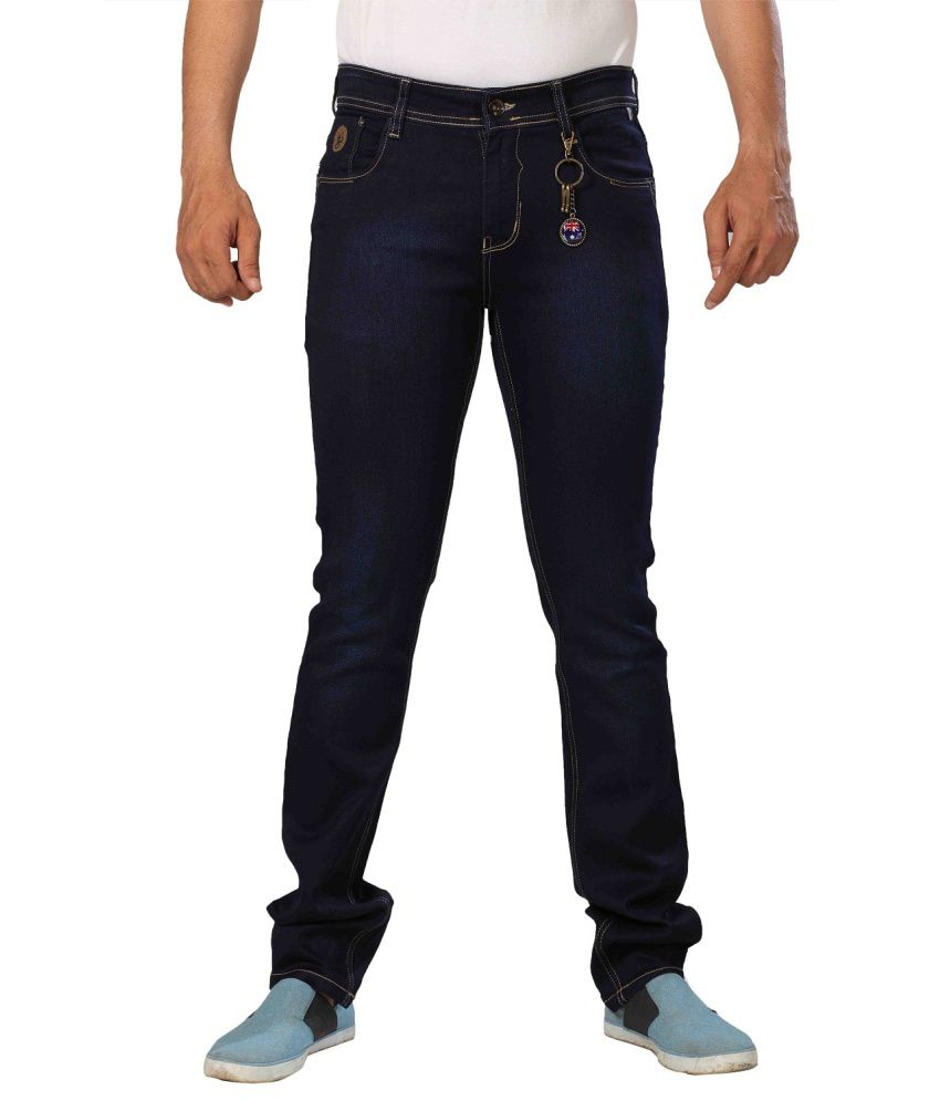 Hardy Boys Jeans HardyBoysJeans Men's Denim Cotton Stretch Deep Indigo Denim 133