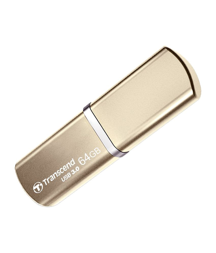 Transcend TS64GJF820G JetFlash 820 64 GB Pen Drive - Gold
