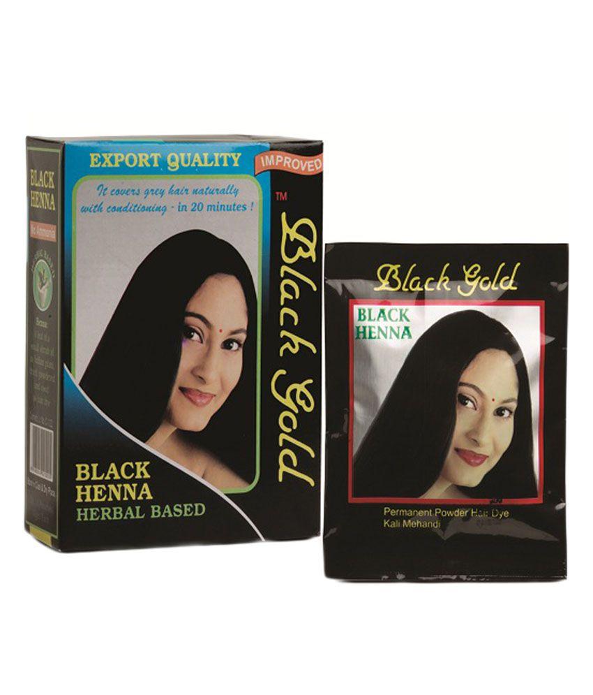 eddf67c89 Black Gold Black Henna -pack Of 2: Buy Black Gold Black Henna -pack Of 2 at  Best Prices in India - Snapdeal