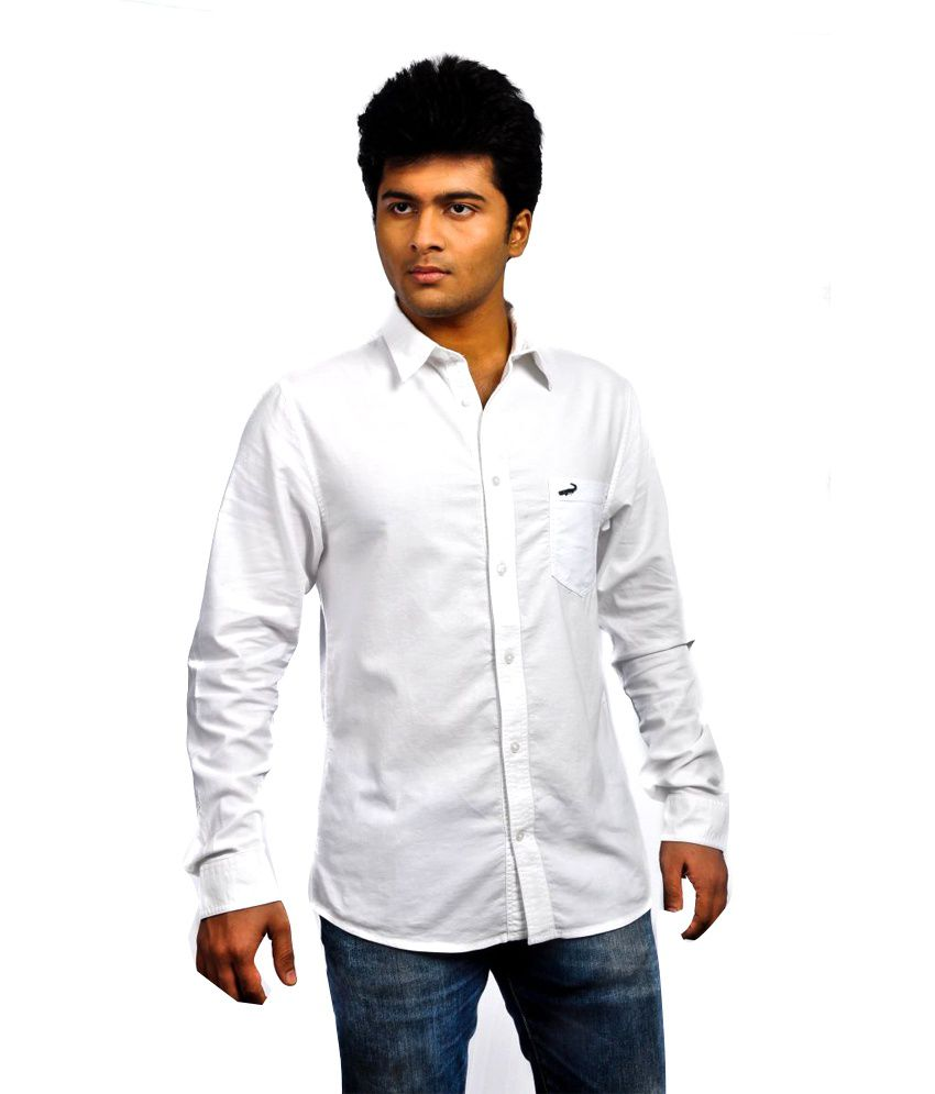 526ec6c0 Crocodile White Shirts - Buy Crocodile White Shirts Online at Best Prices  in India on Snapdeal