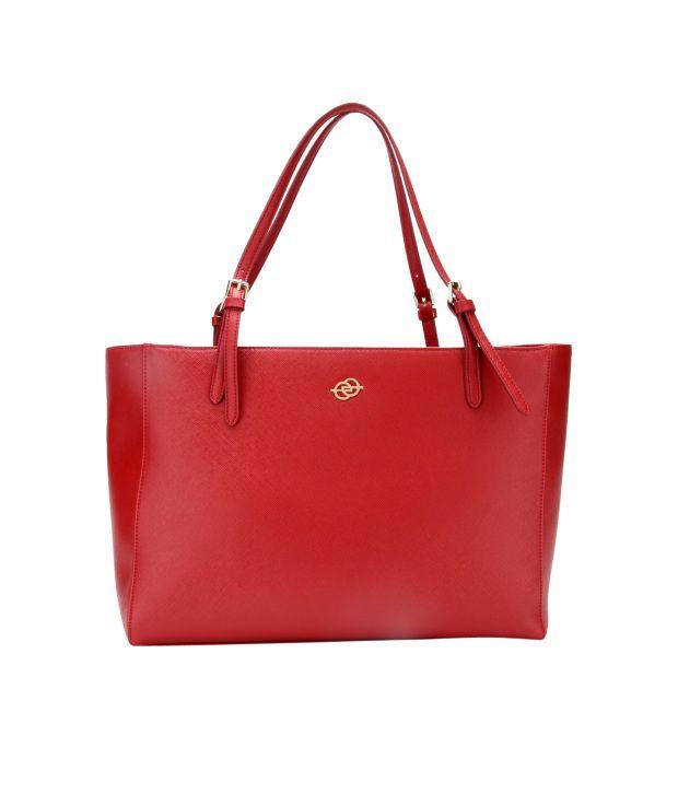 Elespry Red Shoulder Bag