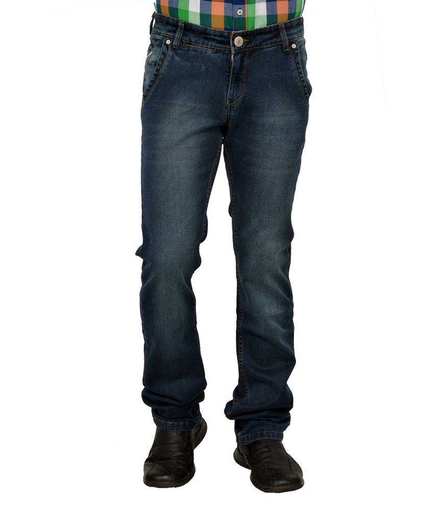 Passport Tinted Cross Pocket Narrow Fit Lycra Jeans