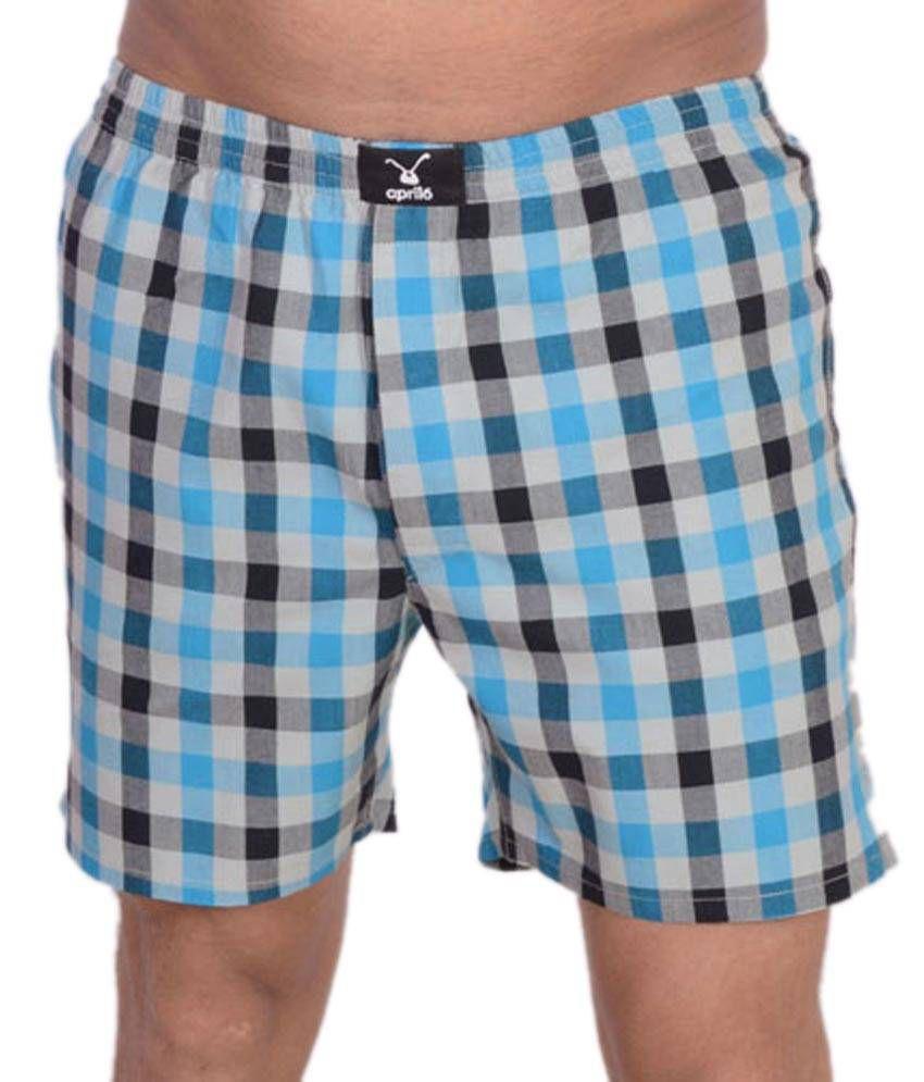 April6 Blue Shorts