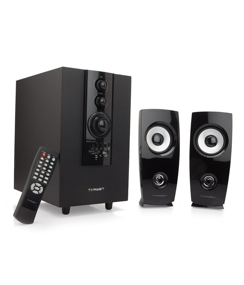 buy target ts 2980f 2 1 speakers black online at best price in rh snapdeal com