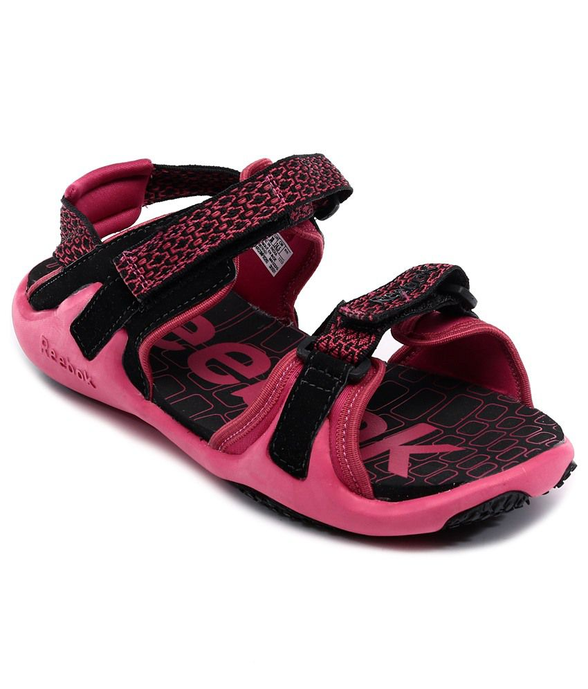 fed8cc65c5e162 Reebok Pink Floater Sandals - Buy Reebok Pink Floater Sandals Online ...