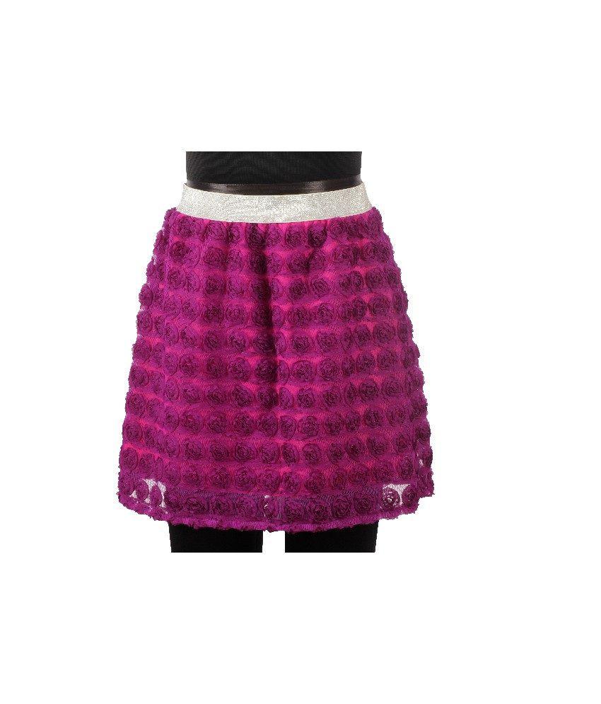 Karyn Purple Color Party-Wear Skirts For Kids - Buy Karyn Purple Color Party-Wear Skirts For ...