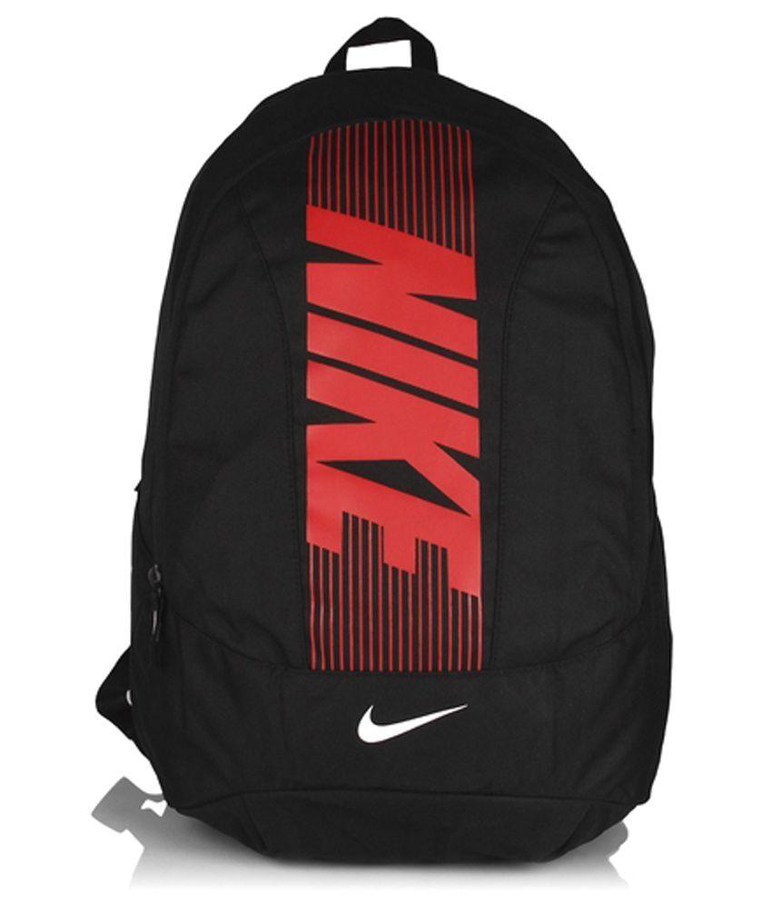 Nike Stylish Black/red Backpack Unisex - Buy Nike Stylish ...