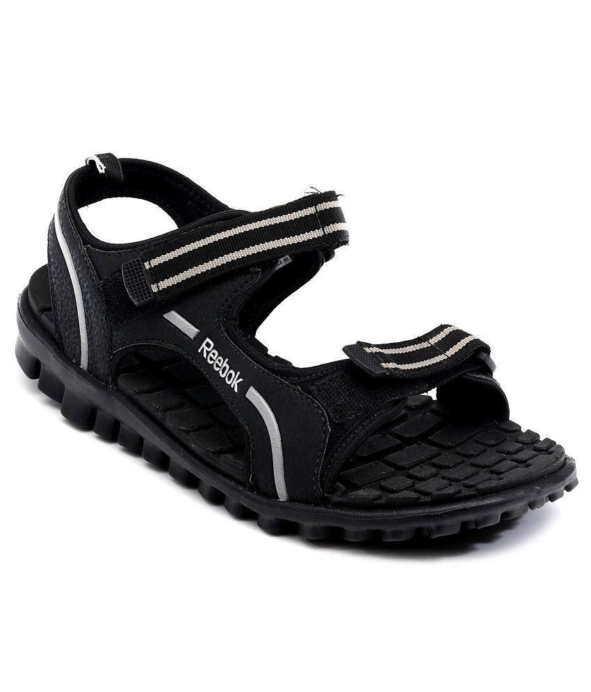 Reebok Black Floater Sandals Price In India Buy Reebok