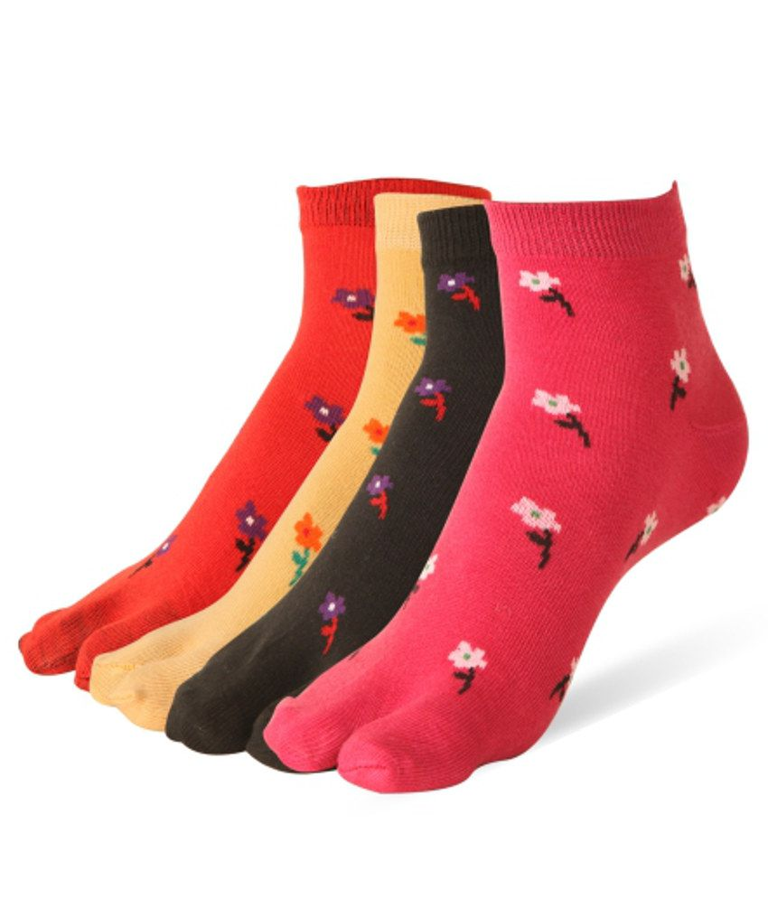Stellen Women Cotton Thumb Socks