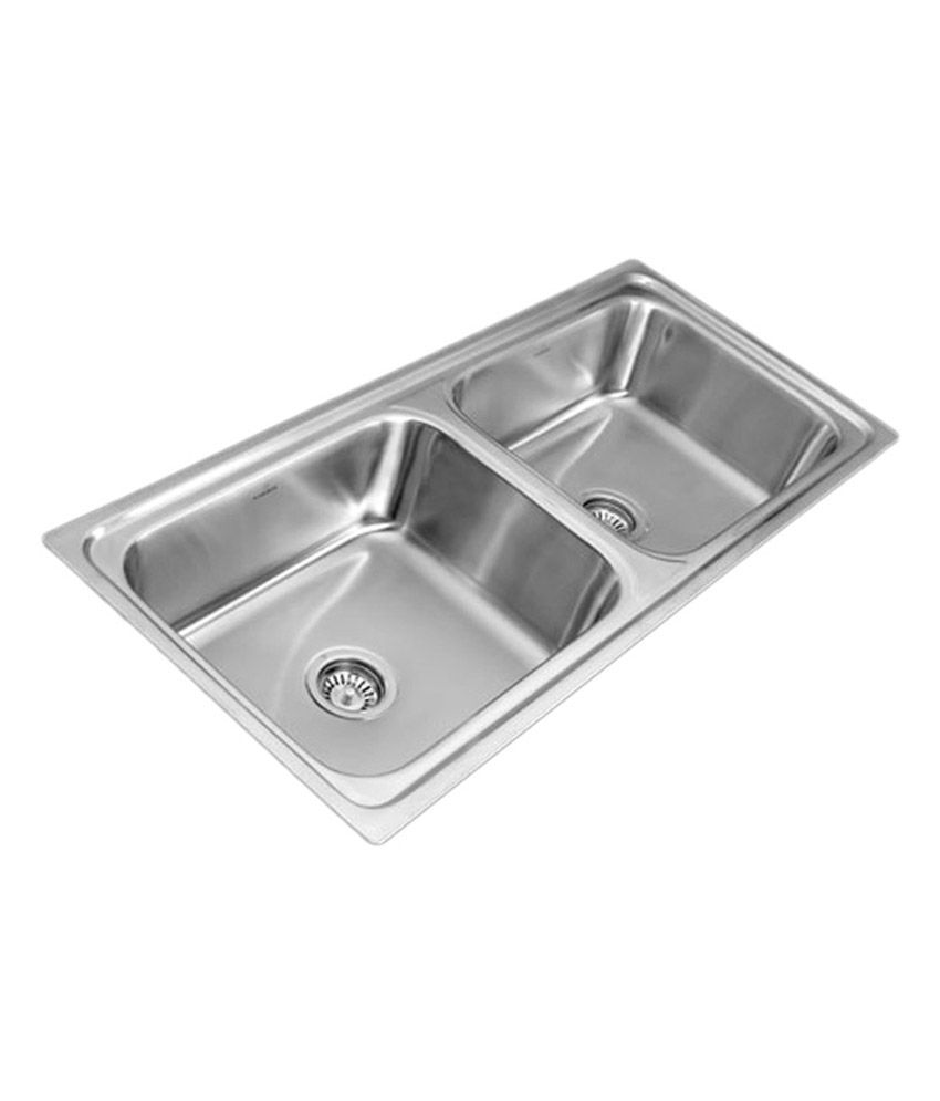 Double Bowl Kitchen Sink Price In India