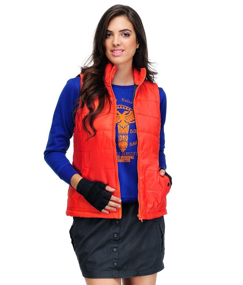 900e372e2e6c0 Buy Yepme Orange Jacket For Women Online at Best Prices in India - Snapdeal