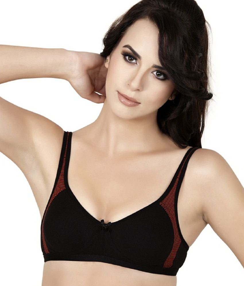 2776761bb Buy Alies Lingerie - T-shirt Bra - Teenager ( Black ) Online at Best Prices  in India - Snapdeal