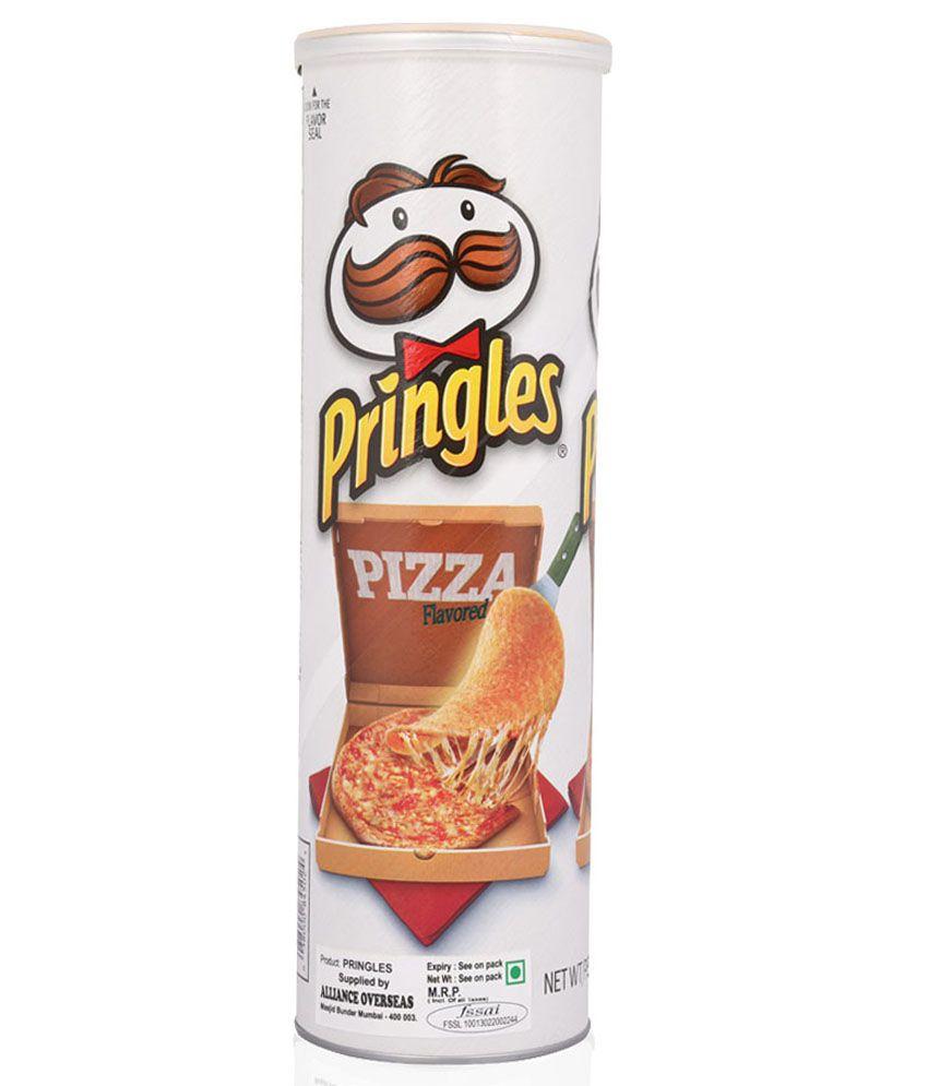 Pringles Pizza Potato Crisps - 169g