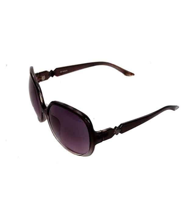 New Zovial Purple Oval Uv Protection Women's Sunglasses