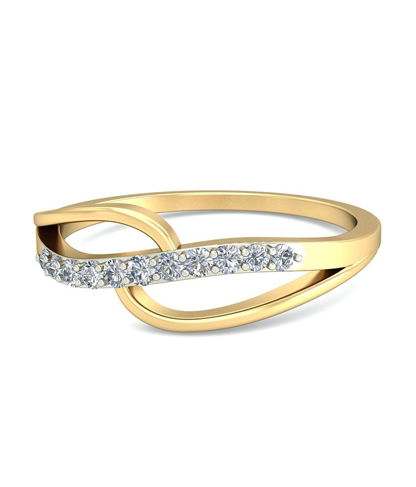 The Quaysar Diamond Ring WearYourShine by PC Jeweller