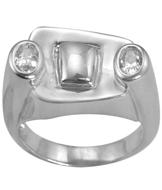 Arsh Crown Sky Dominion 1.46 Ctw Cubic Zirconia 925 Sterling Silver Ring