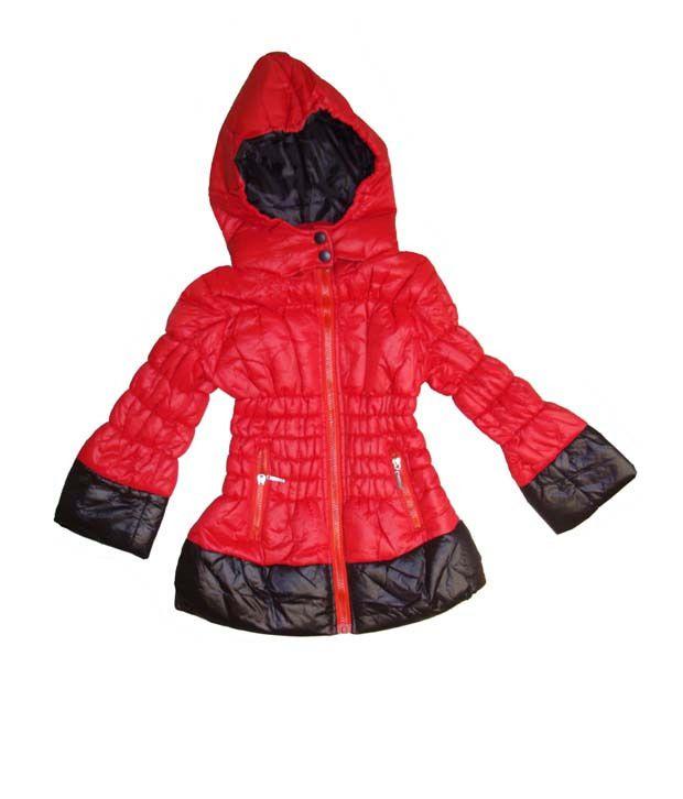 Bodingo Red Casual Girls Jacket