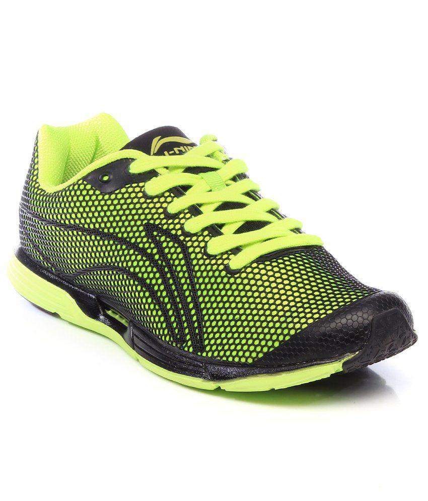 Li-ning Green Sport Shoes