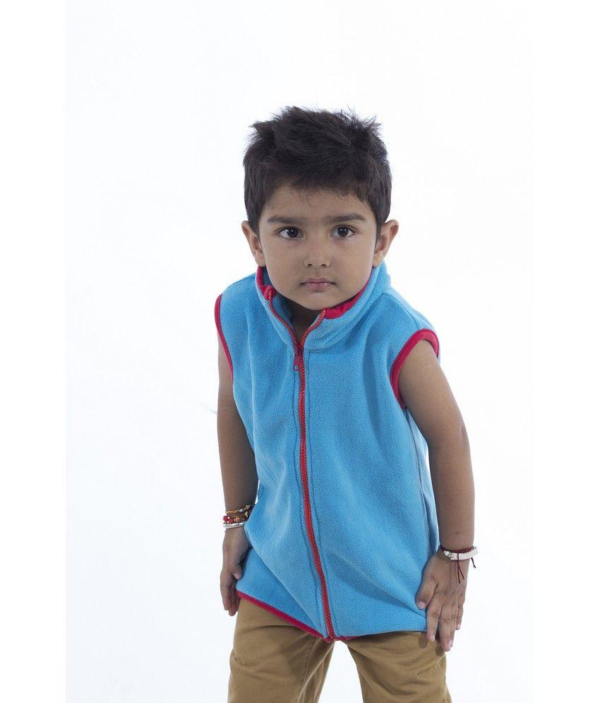Nino Bambino Sleeveless Sweatshirt With Full Zipper