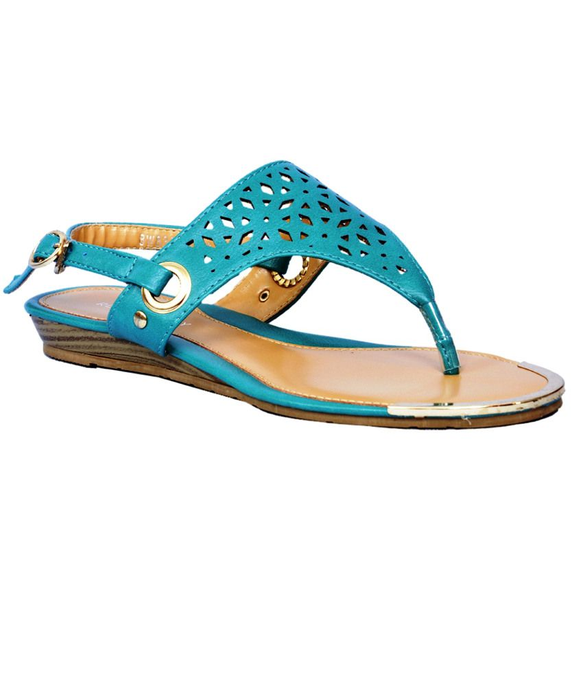 Ronnie Grey Blue Sandal