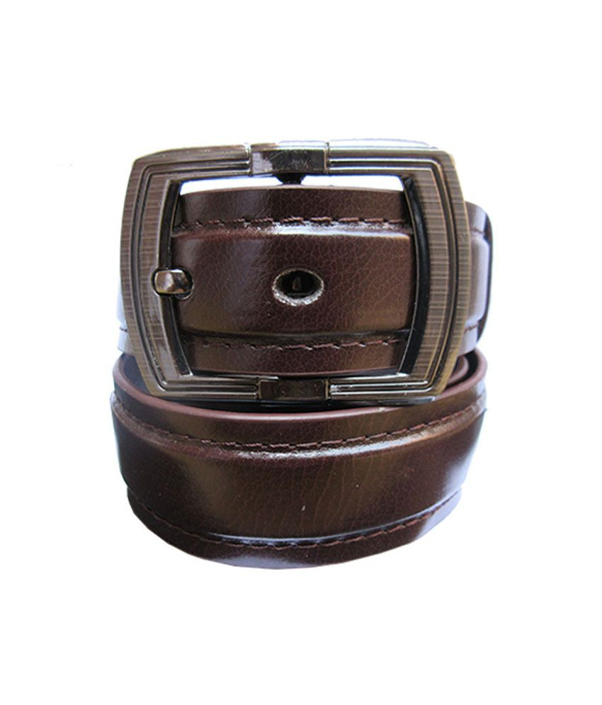 Urfashion Stylish And Fashionable Vrown Mens Belt