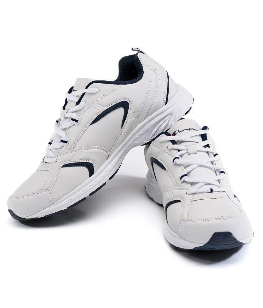 594c72c70 Champion White Sport Shoes - Buy Champion White Sport Shoes Online ...