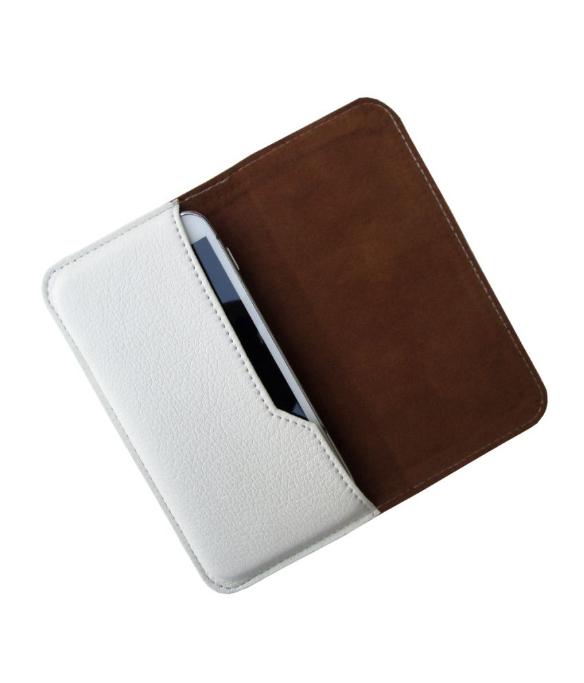 Ikitpit Pu Leather Pouch Cover For Karbonn A2+