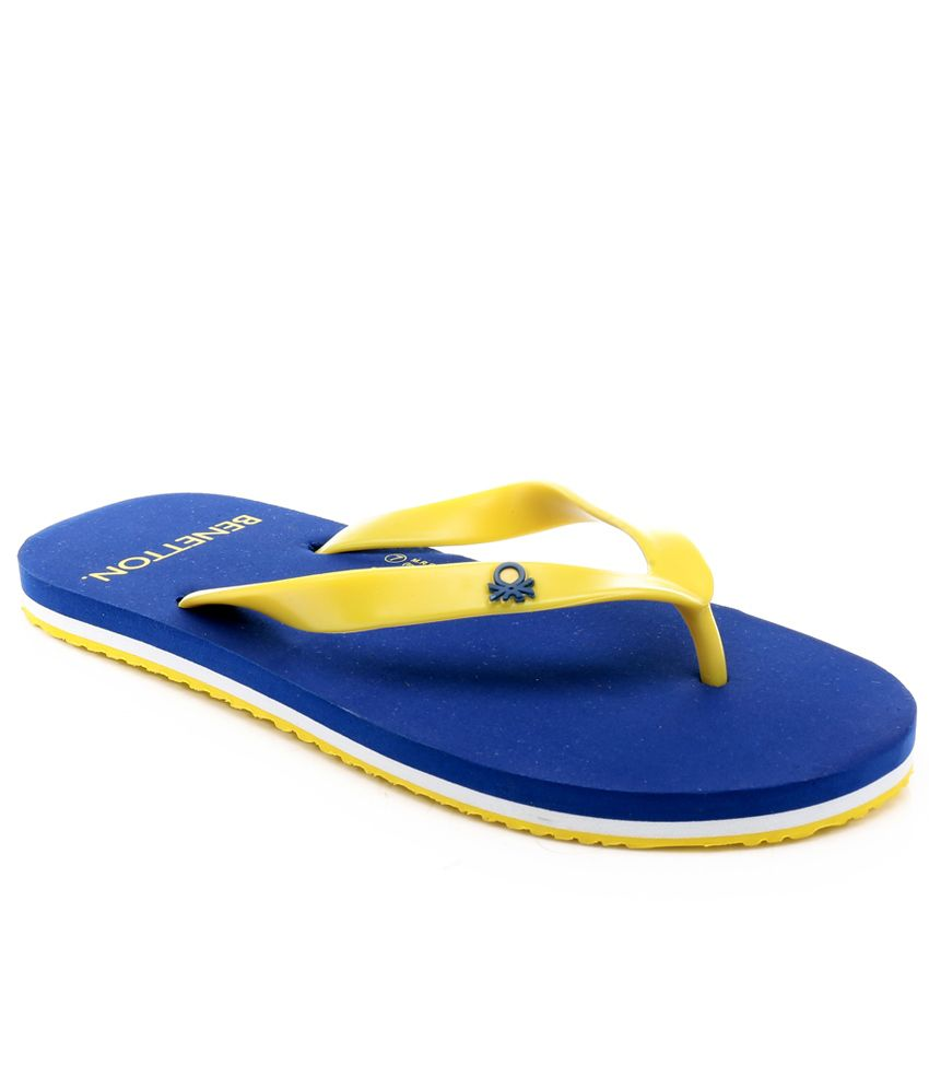 f4761147e United Colors Of Benetton Yellow Slippers Price in India- Buy United Colors  Of Benetton Yellow Slippers Online at Snapdeal