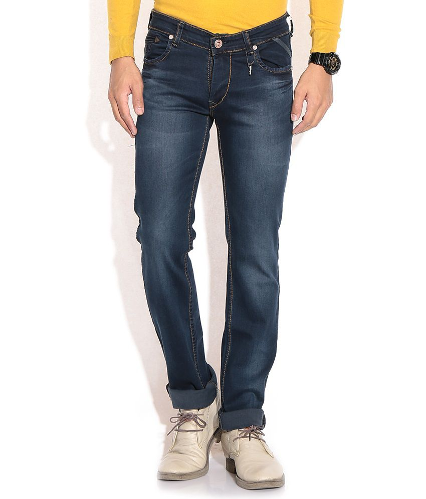Urban Navy Blue Slim Jeans