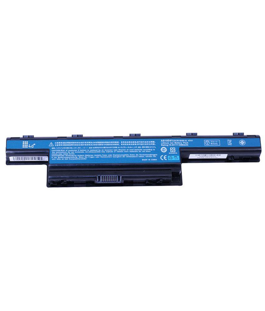 4d Acer Aspire 7741g-464g64mn 6 Cell Laptop Battery