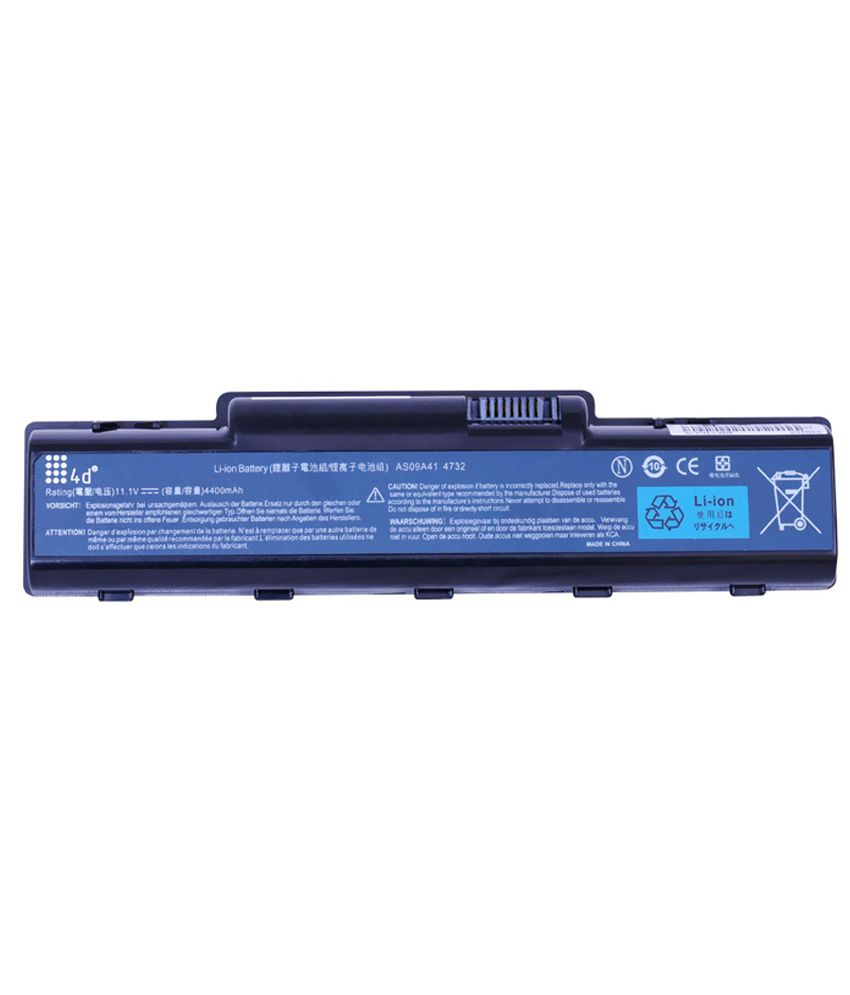4d Acer Aspire As09a61 6 Cell Laptop Battery