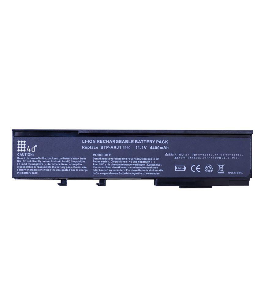 4d Acer Aspire Btp-apj1 6 Cell Laptop Battery