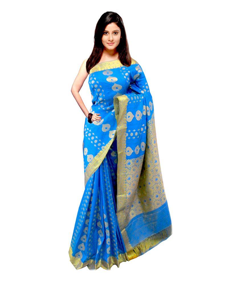 0edd575511a6a0 Sonam Blue and Grey Color Broket pattu saree with Blouse - Buy Sonam Blue  and Grey Color Broket pattu saree with Blouse Online at Low Price -  Snapdeal.com